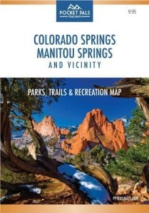 Colorado Springs - Manitou Springs - Recreational Map