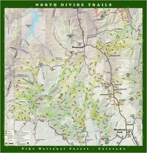 North Divide Hiking Trails